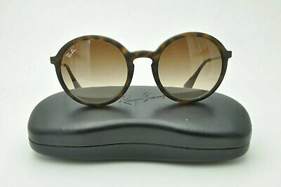747272747ad Ray Ban RB 4222 Sunglasses 865 13 Matte Tortoise   Brown Gradient Lenses  50mm