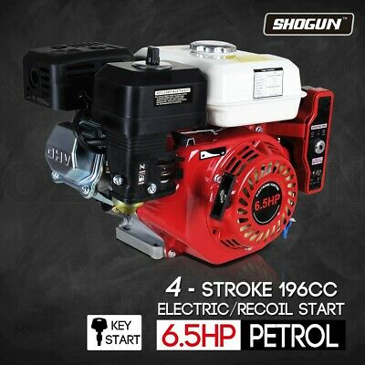 6.5HP Petrol Gasoline Engine 4 Stroke Stationary Motor Electric  Recoil Start