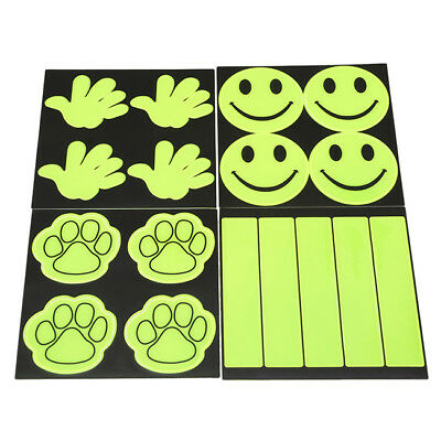 Outdoor Safe Reflective Stickers Kids Safety Decal For Bikes Cycling BS