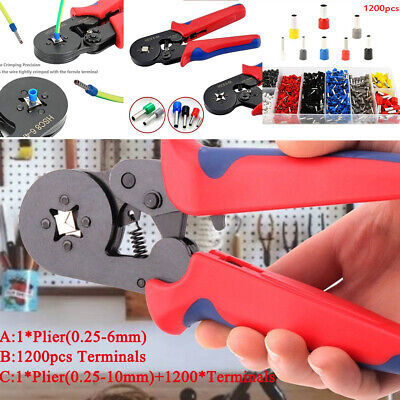 Hand Crimping Plier Terminals Automatic Crimping Tools for Wire-end Ferrules Kit