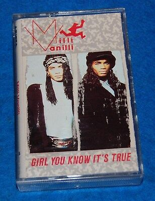 Girl You Know It's True, Milli Vanilli Cassette, Complete & Tested