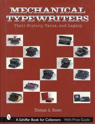 Antique & Vintage Mechanical Typewriters Collector Guide Prices Model ID History