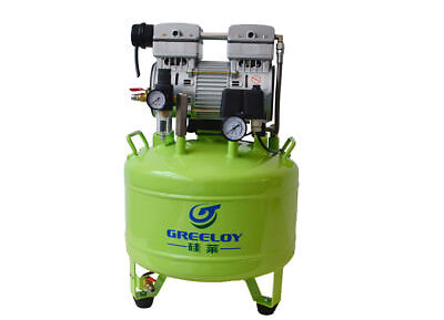 Greeloy Dental Noiseless Oil Free Oilless Air Compressor GA-81 TK