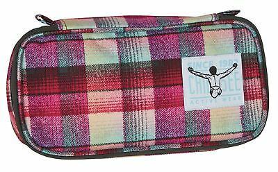 CHIEMSEE Trousse The Pencase Checky Chan Rose