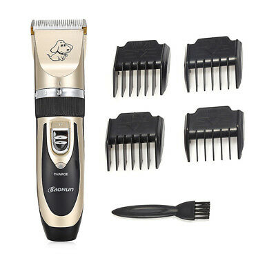 Electric Pet Grooming Clippers Dog Cat Hair Shaver Cordless Grooming Trimmer