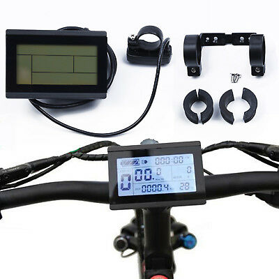 24~48V LCD3 Display Meter Control Panel For Electric Bicycle Durable~