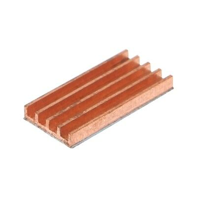 Pure Copper Ultra Thin Heat Sink Back Memory RAM Sink Cooling For MOS IC Chip