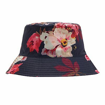 f8b94b4ee13 Joules Rainy Day Womens Headwear Hat - French Navy Bloom Print One Size