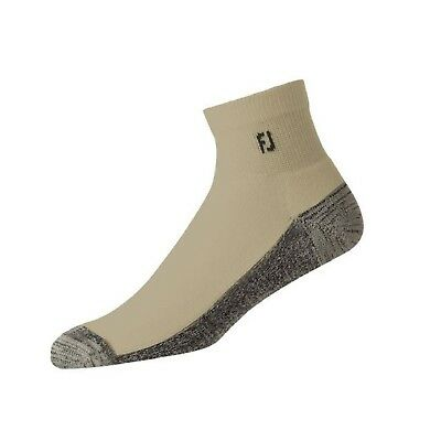 FootJoy FJ ProDry Men's Quarter Length Golf Socks - Driftwood
