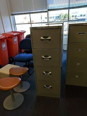 Filing Cabinet 4 Drawer Good Condition with swing files