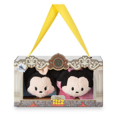 Disney Store Mickey and Minnie Mouse ''Tsum Tsum'' Plush Set - Los Angeles