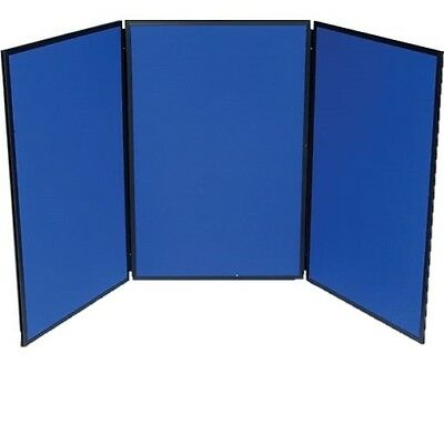 3-Panel Tabletop Exhibition Board, 72 x 36 Inches