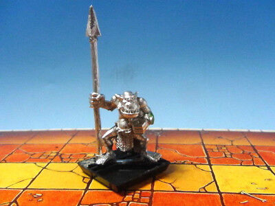 Warhammer Fantasy Battle Savage Orc Spear 1992 Metal Citadel Games Workshop OOP