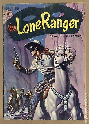 Lone Ranger (Dell) #40 1951 GD+ 2.5