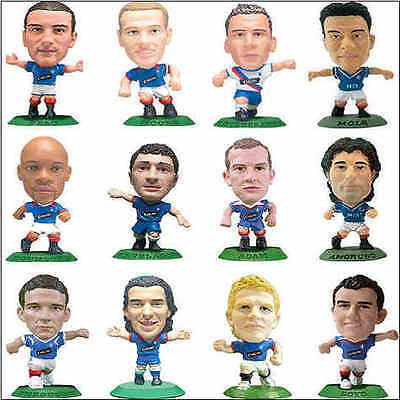 CORINTHIAN Microstar football (Soccer) figure GLASGOW RANGERS players - Various