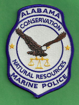 Alabama Marine Resources Conservation Enforcement Police Patch