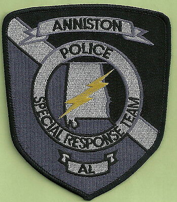 Anniston Alabama Police Srt Special Response Team Patch