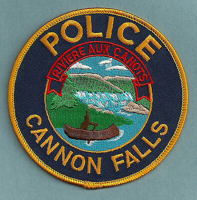 Cannon Falls Minnesota Police Patch