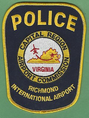Richmond International Airport Virginia Police Patch