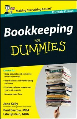 Bookkeeping for Dummies UK Edition Whs T-Jane Kelly