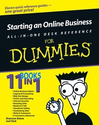 Starting an Online Business All-in-One Desk Reference For Dummies-Shannon Belew