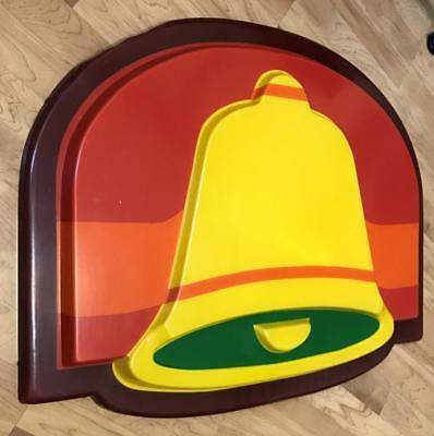 Vintage Taco Bell Electric Sign FRONT FACE ONLY! Retro RARE