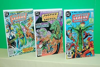 DC Justice League of America issues #226-227-228 Unread BXA