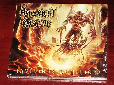 Malevolent Creation: Invidious Dominion CD 2010 Nuclear Blast NB USA Digipak NEW