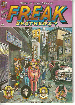 The Fabulous Furry Freak Brothers #6 (1980, Rip Off Press)