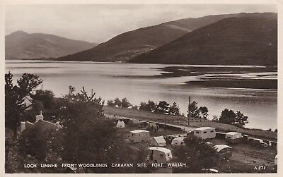 Fort William - Woodlands Caravan Site - Lovely Real Photo By White Of Dundee