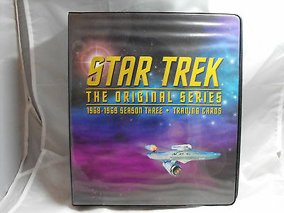Star Trek The Original Series Season 3 Collectors Binder