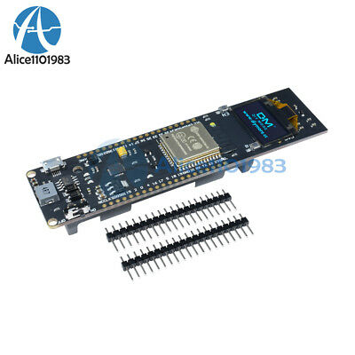 0.96 inch ESP32 WiFi Bluetooth Blue OLED 18650 Battery CP2012 Development Board