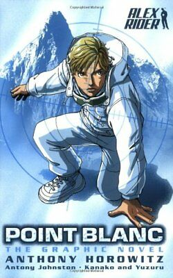 Point Blanc: The Graphic Novel (Alex Rider)-Anthony Horowitz,Antony Johnston,Ka