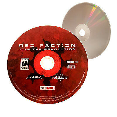 (Nearly New) Disc 2 ONLY Red Faction Join the Revolution PC Game - XclusiveDealz