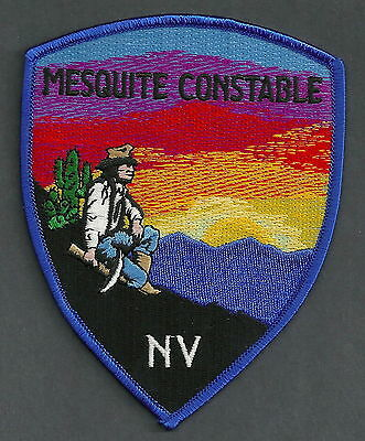 Mesquite Nevada Constable Police Patch