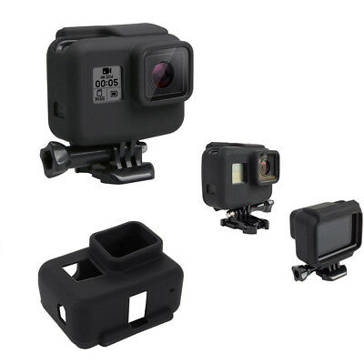 Soft Silicone Rubber Protective Frame Cover Case Skin for GoPro Hero 5 Camera