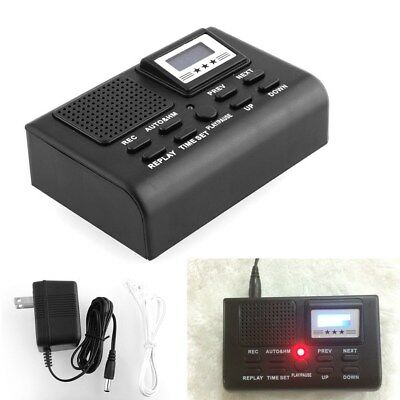 Digital Telephone Call Phone Voice Recorder LCD Display w/ SD Card Slot New