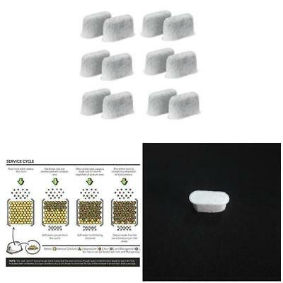 6 Pcs Charcoal Water Filters for Breville Coffee Machine Water Dispenser Kettles