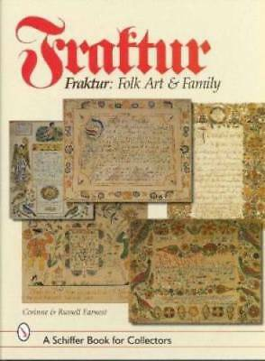 Fraktur Folk Art Family Book Motifs Artists