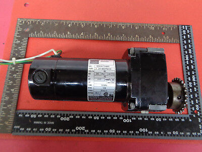 Bodine 24Y4BEPM-D3 brushless gear motor 1/17HP 139RPM 18:1 ratio LOTQ26811B