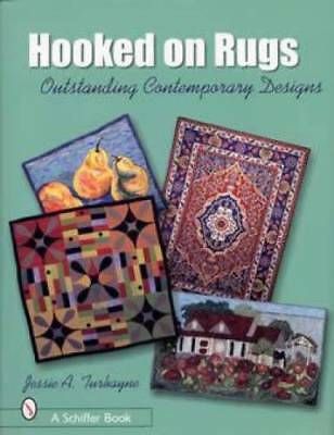 Hooked on Rugs Book Contemporary Hooking Art Textile