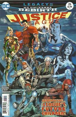 JUSTICE LEAGUE (2016) #26 - Cover A - DC Universe Rebirth - New Bagged (S)