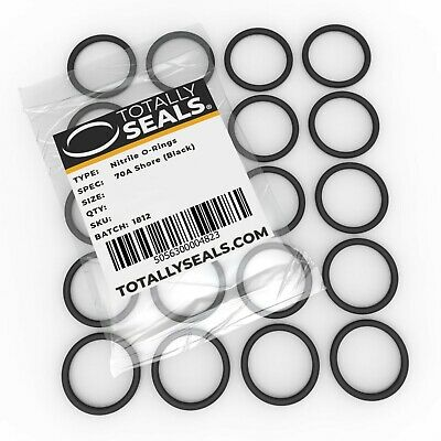 1.5mm Cross Section O-Rings - Nitrile Rubber 70A Metric O-Ring Seals Packets