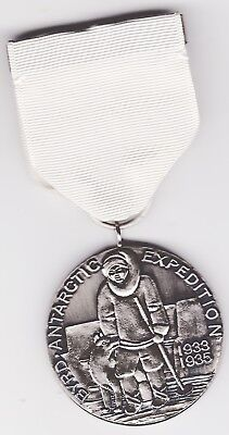 Us Byrd  Antarcticexpedition Medal 1933-1935Museum Grade Reproduction