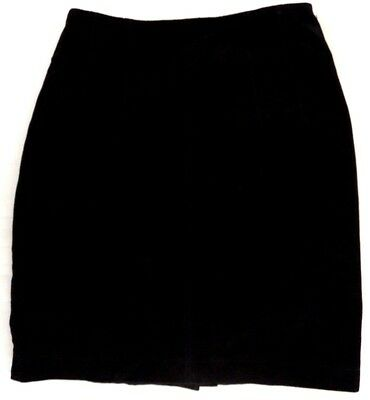 THE LIMITED SUEDE LEATHER SKIRT*Black*Size 2*Lined