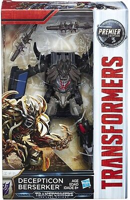 Transformers The Last Knight Premier Deluxe Decepticon Berserker Action Figure
