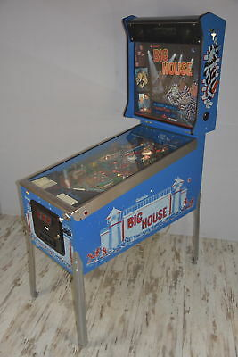 Kit caoutchouc BIG HOUSE Gottlieb 1989  blanc FLIPPER PINBALL