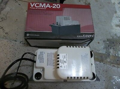 Little Giant 554425 VCMA-20ULS Condensate Removal 1/30 HP Pump with Safety