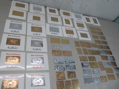 Nystamps Worldwide mint Silver Gold space stamp collection Rare