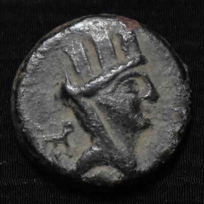 Hierapolis-Kastabala, Cilicia, 2Nd-1St Century Bc, Ae19, Tyche/eagle, Sng 2221